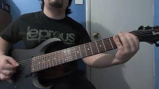 Leprous - contaminate me guitar cover