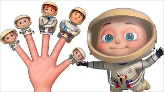 Astronaut Finger Family And More   Finger Family Collection   Nursery Rhymes & Kids Songs