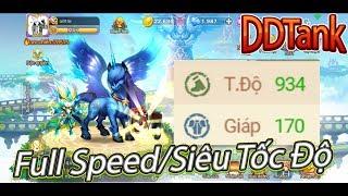 Garena DDTank:Hack Speed Gần 1000 Tốc Độ|Trùm Cướp Turn
