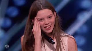 13 Year Old Singing Like a Lion Earns Howie&#39s Golden Buzzer America&#39s Got Talent 2018