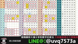 【今彩五三九】歐陽願版路  09/11-09/14 預測三個號碼