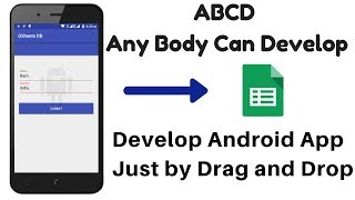 Develop Android app without Coding Using App Inventor |Google Sheet | APP SCRIPT