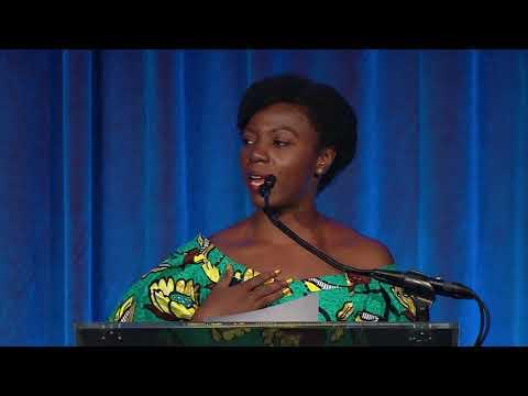Joy Notoma Accepts 2018 Newsweek Magazine Alumni Prize