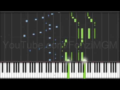 "[Rakudai Kishi no Cavalry OP] ""Identity"" - Sakai Mikio (Synthesia Piano Tutorial) [MIDI + Sheets DL]"