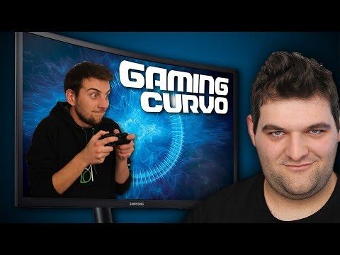 Monitor gaming curvi Samsung? Non fanno una piega