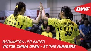 Badminton Unlimited 2019 VICTOR China Open By the Numbers BWF 2019