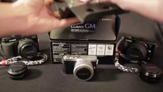 Unboxing and comparing the Panasonic GM1