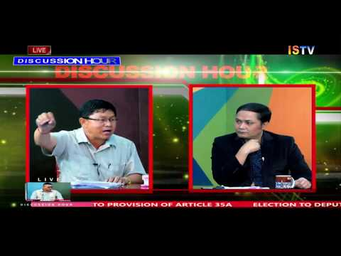 "8 PM DISCUSSION HOUR TOPIC : ""POLITICISING MANIPUR UNIVERSITY IMBROGLIO ?""  6th Aug 2018/ LIVE"