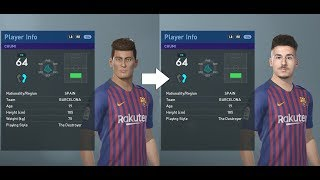 PES 2019 facepack part 3 - La Liga ~40 real faces added (PC)