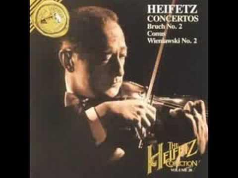 Heifetz Plays Conus Movement 1 Part 1