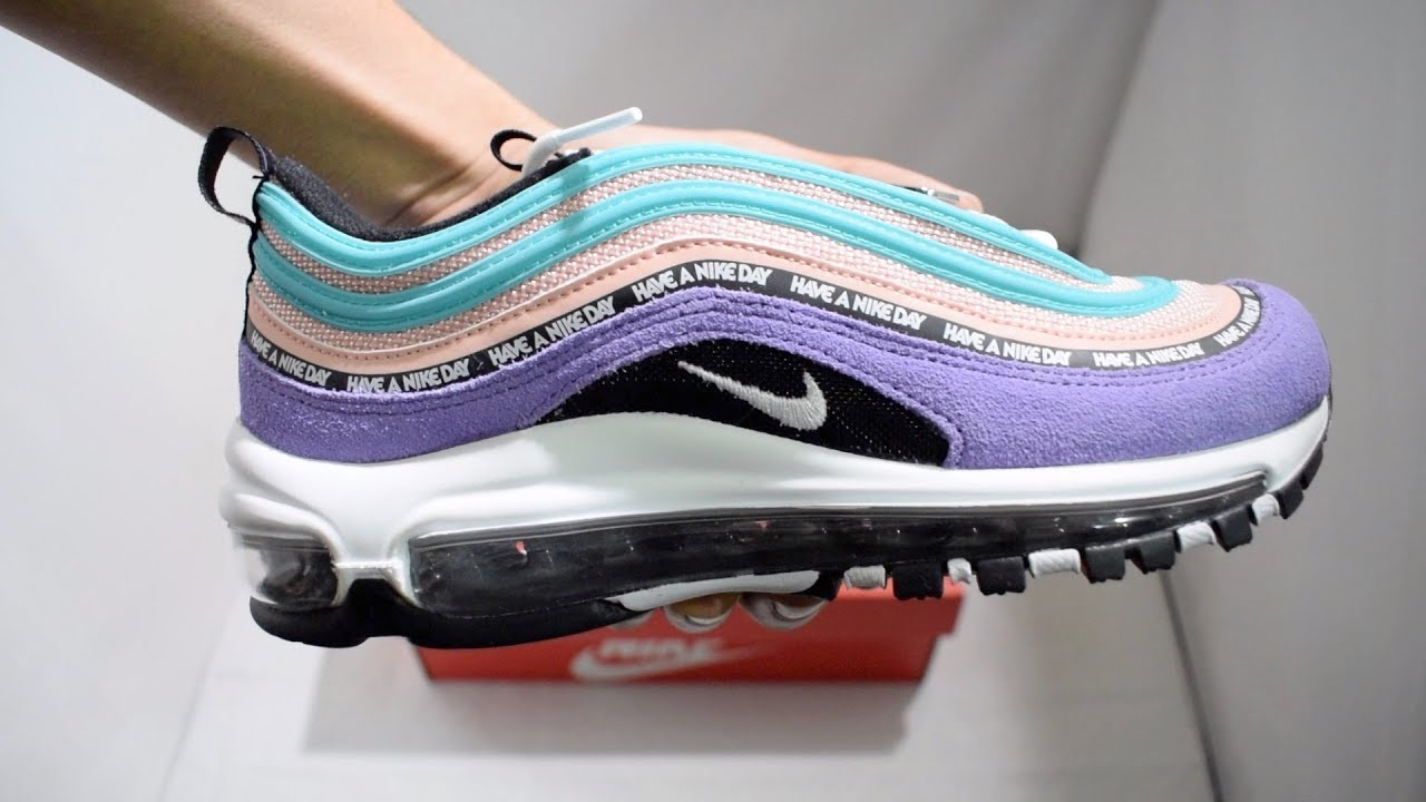 info for 3034c 11319 Nike Air Max 97 Have A Nike Day Unboxing