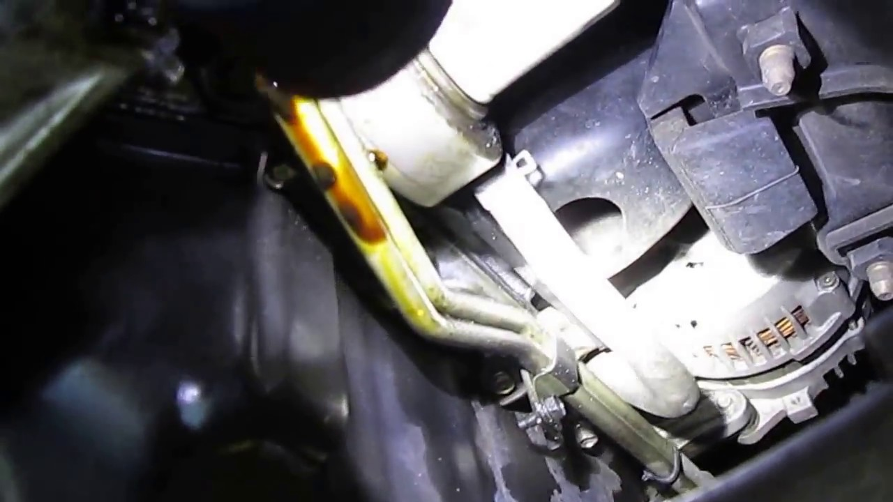 Nissan Frontier Oil Leak - YouTube