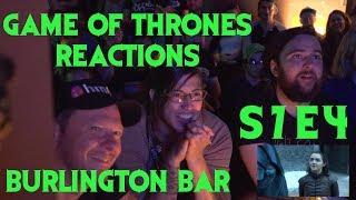 GAME OF THRONES | Burlington Bar REACTION /// S7 Episode 4 BRAN & BAELISH - ARYA VS BRIENNE \\\