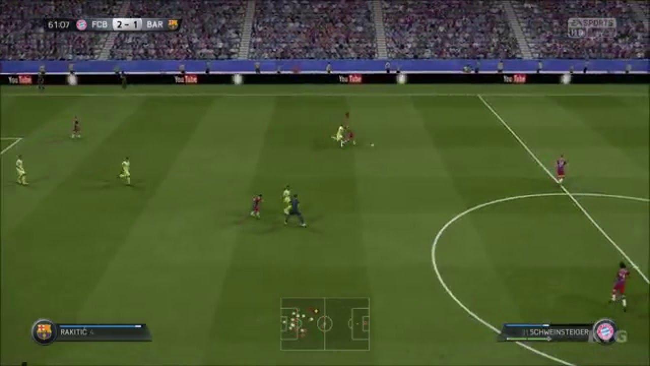 b8fb63a5a FIFA 15 - UEFA Champions League - FC Bayern Munich vs FC Barcelona ...