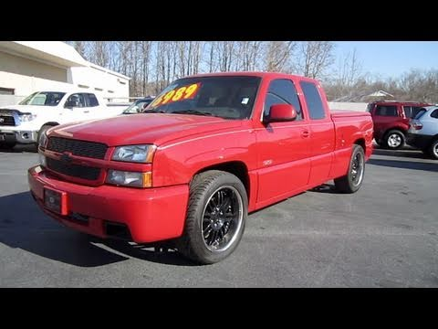 2004 chevrolet silverado ss start up exhaust and in. Black Bedroom Furniture Sets. Home Design Ideas