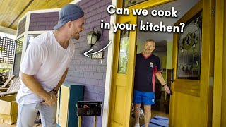 Asking Strangers to Cook Them Dinner in THEIR Kitchen