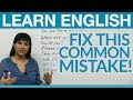 Frame from English Vocabulary: Find the Mistake