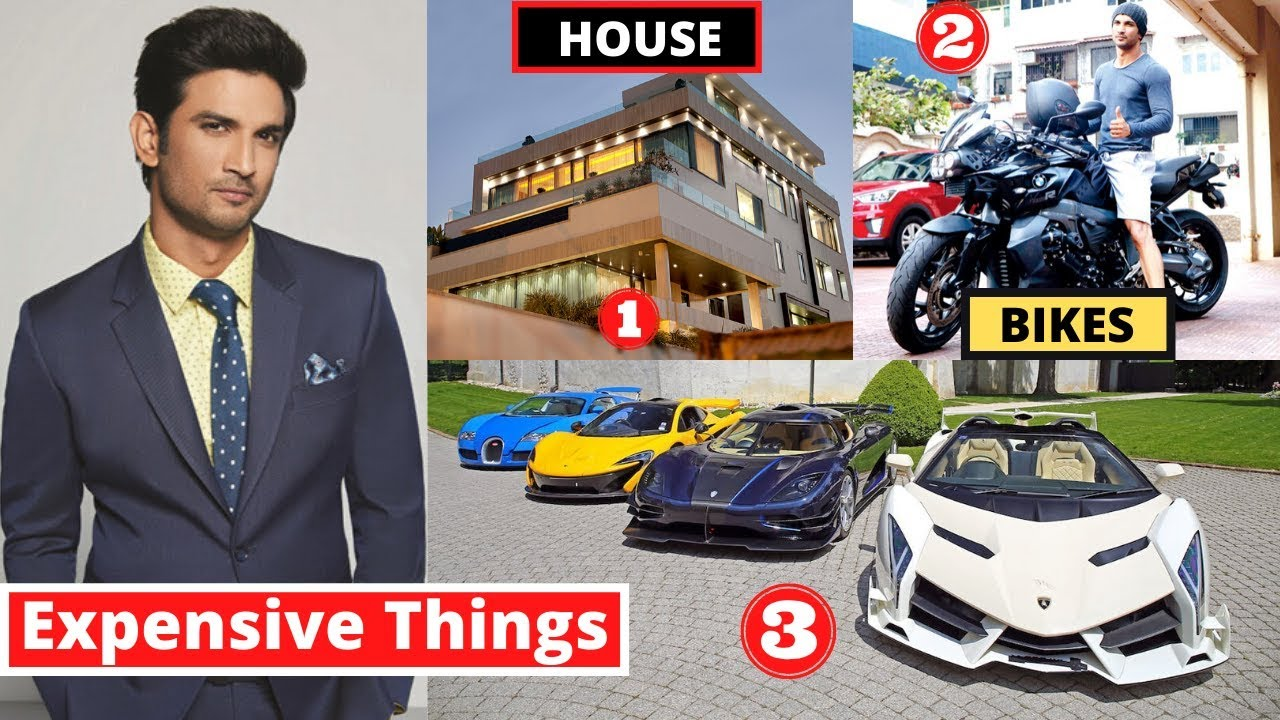10 Most Expensive Things Sushant Singh Rajput Owns - MET Ep 4