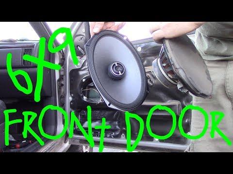 1999-2004 Jeep Grand Cherokee Front Door Speakers