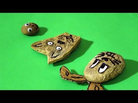 Atelier de creații - Animale din pietre