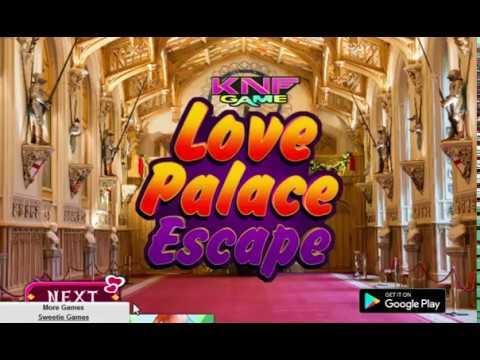 Knf Lovely Living Room Escape Walkthrough Light Blue Design Ideas Love Palace Youtube