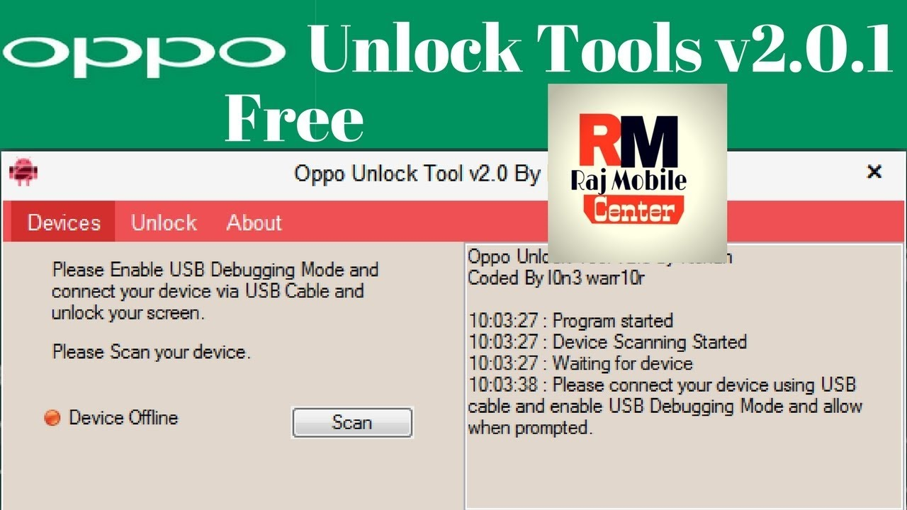 oppo network unlock tools 100% Work 100% free