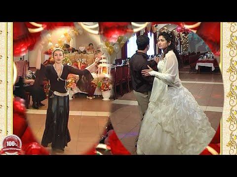 Танец молодоженов и удивительная цыганочка с танцем