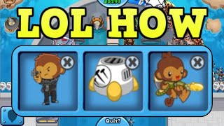 A Challenge Where You Have To Glitch To Win! (Bloons TD 6)