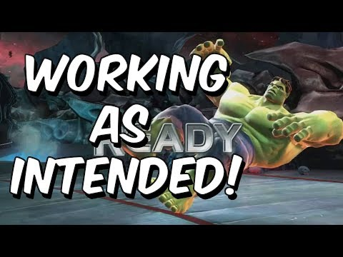 Working as Intended! - Marvel Contest Of Champions