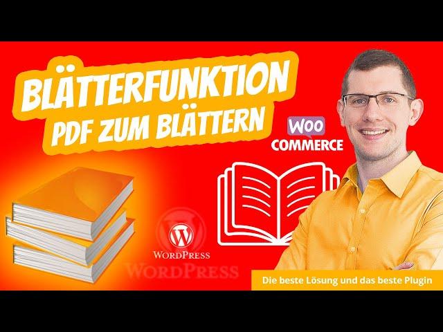WordPress Blätterfunktion PDF Blätterkatalog Plugin 📙 Einfach PDF zum Blättern