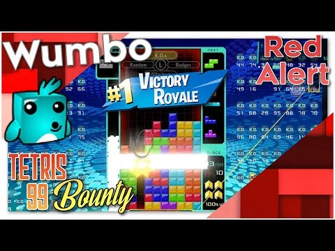 "Tetris 99 Bounty - ""Red Alert"""