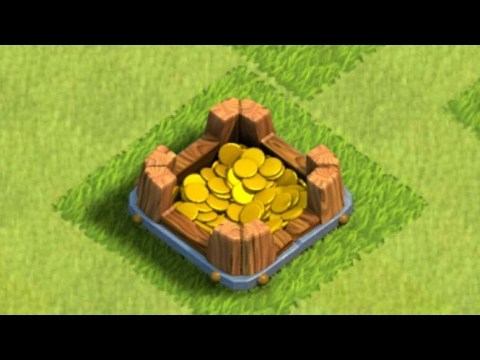 Upgrading Gold Storage To Level 2 In Clash of Clans Game