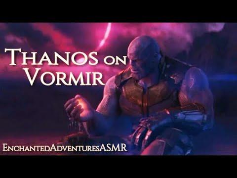ASMR Avengers - Thanos On Vormir, Water Sounds, EnchantedAdventuresASMR