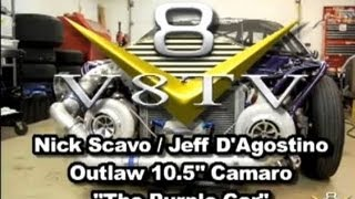New Outlaw Camaro for Nick Scavo V8TV-Video