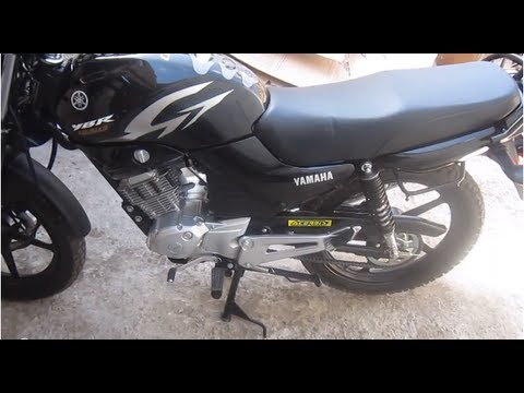 68f277b5055 YAMAHA YBR 125G, Color NEGRO (Neumaticos y Guardabarros Enduro ...