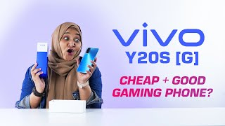 Cheap + Good Gaming Phone? | Vivo Y20s [G] Unboxing