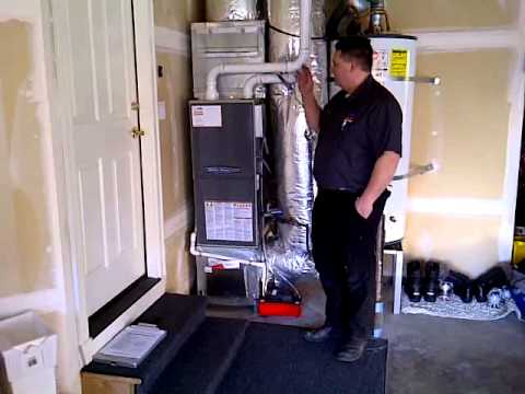 95 Percent High Efficient Gas Furnace Installed Mill Creek
