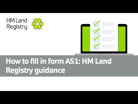 How to fill in form AS1: HM Land Registry guidance