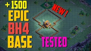 Most Epic Builder Hall 4 Base (BH4) + Defense Replay / BH4 Base Layout | Clash of Clans
