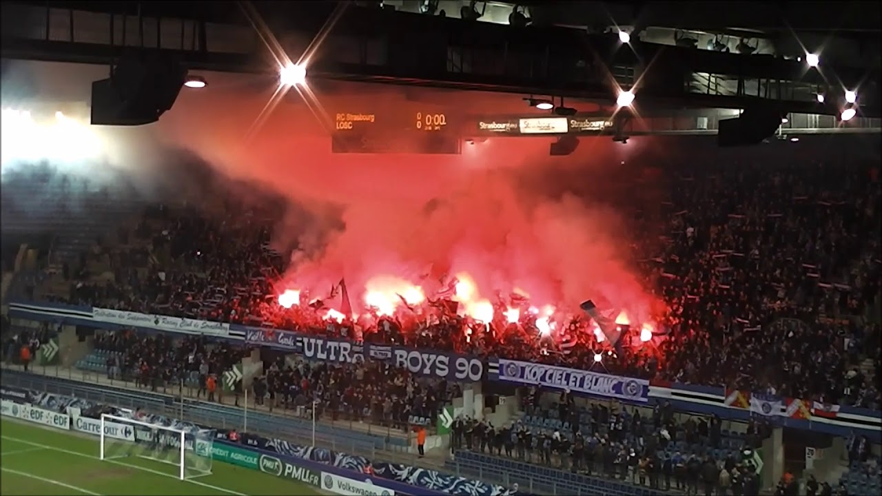 a8adc064251 Ultra Boys 90 Pyro (Rc Strasbourg-Lille Osc) 2017 2018 16e de Finale Coupe  de France