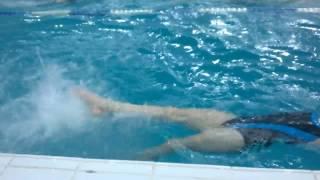 Адаптивное плавание для детей. Тренер Гофман Елена Вениаминовна.