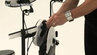 Roland V-Drums Portable TD-4KP Setup Guide (Unfold)