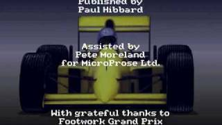 Microprose Formula 1 Grand Prix Intro