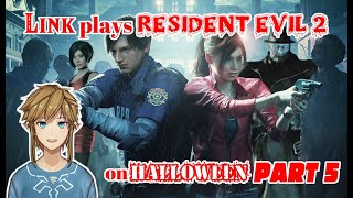 Link plays Resident Evil 2 on Halloween - part 5