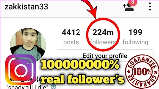 How to get 1000 followers in an hour without following others | best trick never done before