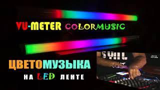 Dj BrainDeaD & Dj Bago - Pioneer Presents DDj-SZ & PLX-1000 / VU-ColorMusic V2.2/ VU-Meter