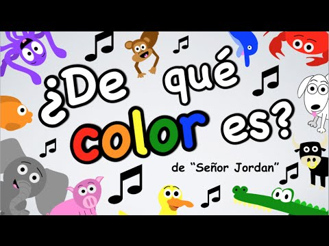 De qu color es Spanish Colors Song  YouTube