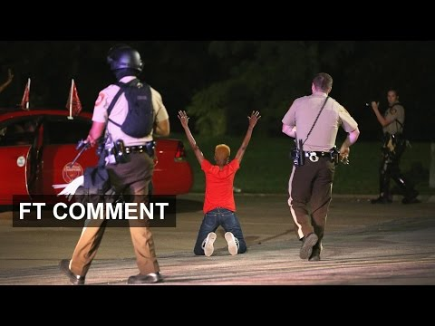 The clashes in Ferguson, Missouri