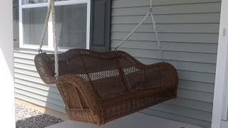 How To Install A Porch Swing
