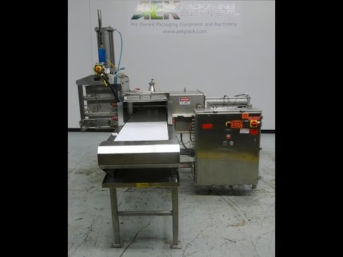 Used- Marchant Schmidt Pneumatic Cheese Cubing Machine, Model MS80 - Stock # 46027001